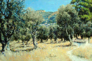 STUDY FOR DOWN THROUGH THE OLIVE GROVE